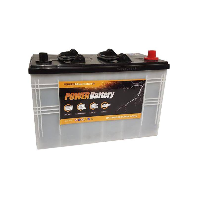 POWER BATTERY Batterie décharge lente Power Battery 12v 120ah