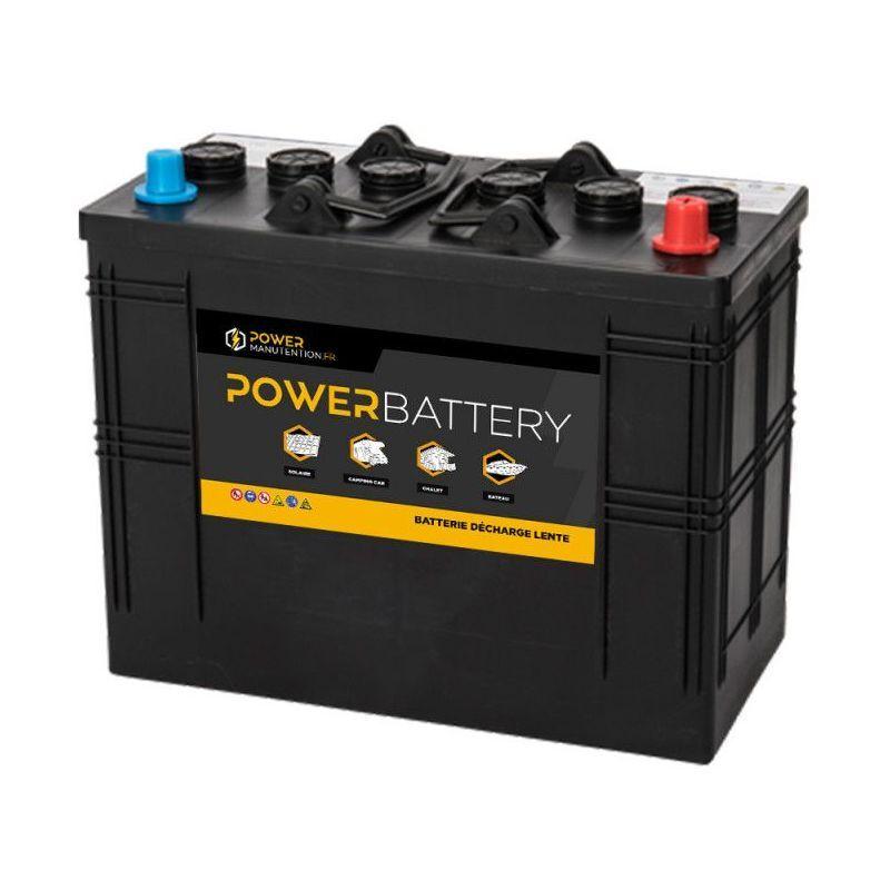 POWER BATTERY Batterie décharge lente 12v 158ah tubulaire - Power Battery