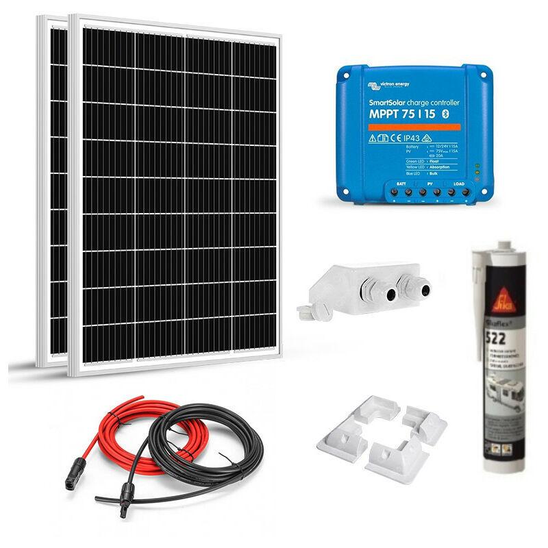 VICTRON ENERGY Kit Solaire 200W (100w x2) 12V Camping Car-Caravane-Bateau