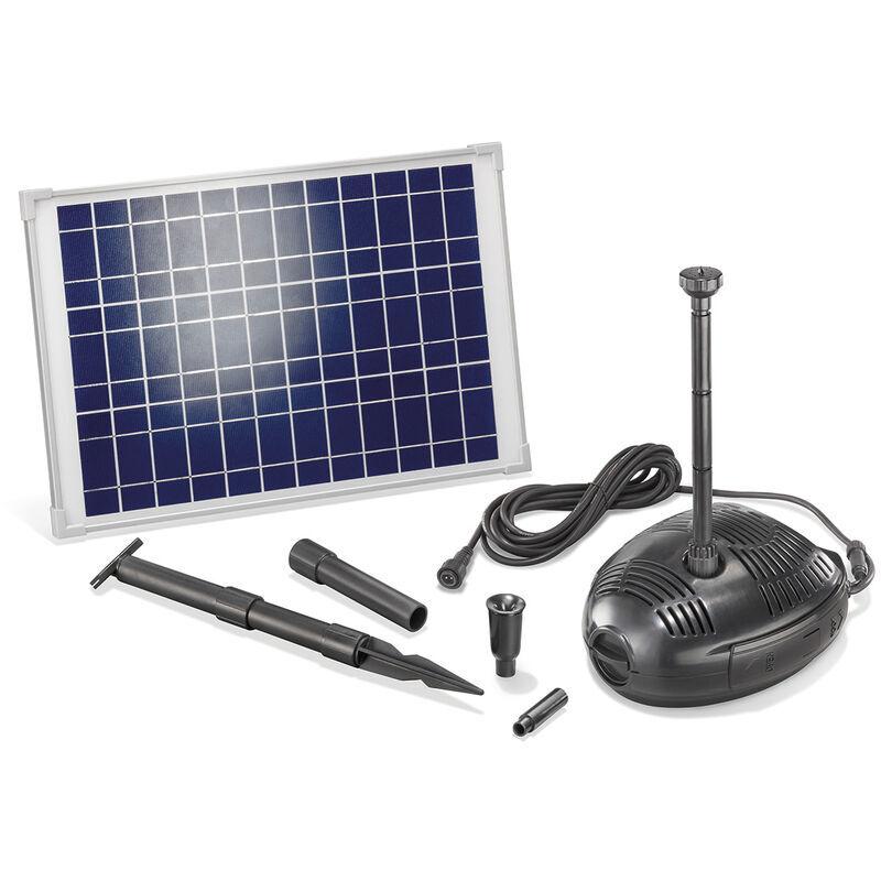 Esotec - Pompe solaire de bassin 25W 1300 l/h Pompe solaire de jardin