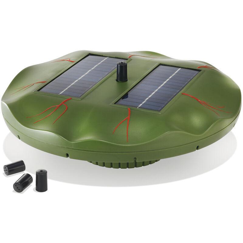 Esotec - Pompe solaire flottante pour bassin de nénuphar Pompe solaire