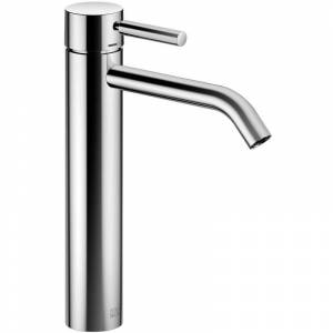 Dornbracht Meta Mélangeur monocommande de lavabo avec pied surélevé, - Publicité