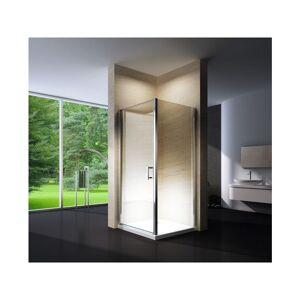 BERNSTEIN Paroi de douche, cabine de douche d'angle, en verre véritable NANO - Publicité