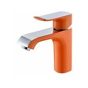 Lookshop - Robinet d'évier contemporain en orange, Robinet à poignée - Publicité