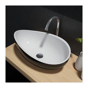 Bernstein - Vasque à poser Wave PB2001B en pierre solide (Solid Stone) - Publicité
