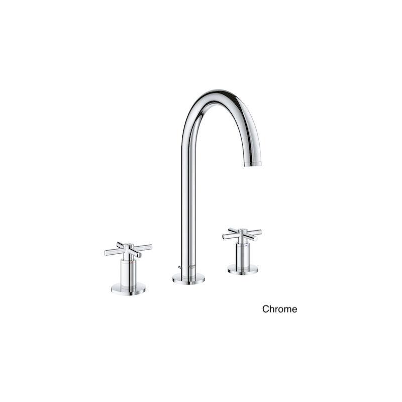 Grohe - robinet lavabo couleur 3 trous Atrio, chrome