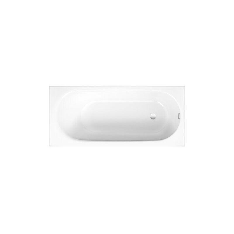 BETTE Baignoire Bette Comodo, 180 x 80 cm, 1251-, Coloris: Blanc avec