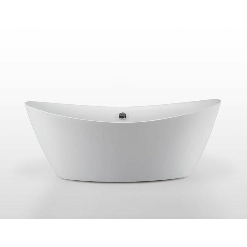 Simba - Baignoire ilôt Acrylique Moderne Design 180 x 80 cm mod.