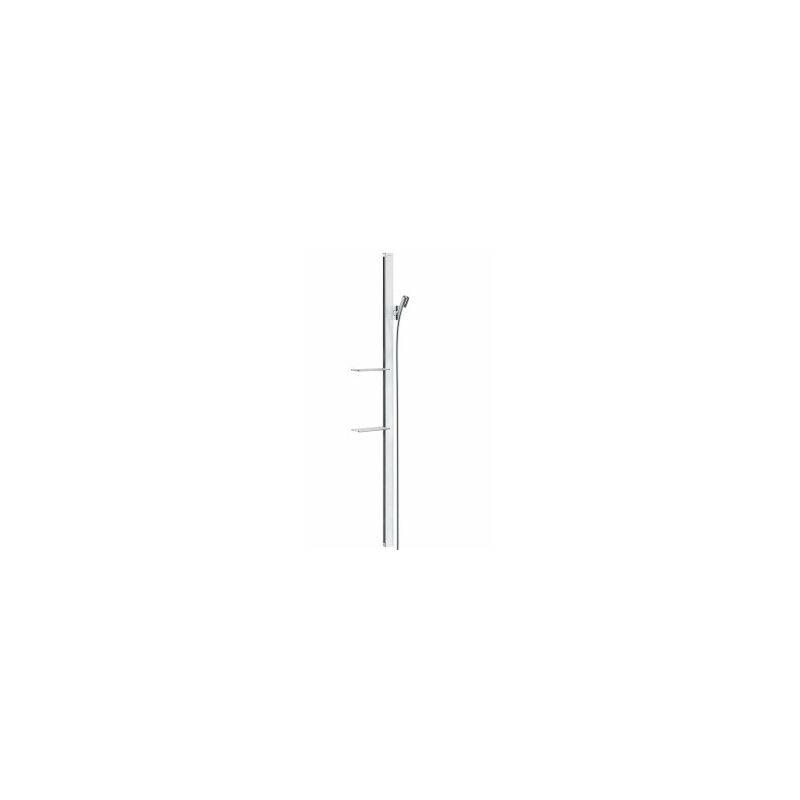 Hansgrohe Unica Barre de douche Unica'E 1,50 m, blanc/chromé (27645400)