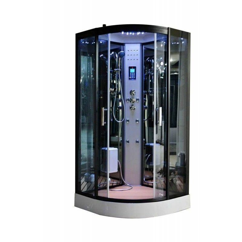 Desineo - Cabine de douche Hammam 80 x 80 cm full options