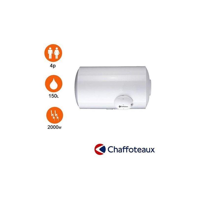 CHAFFOTEAUX Chauffe eau blindé - 150l - horizontal mural en dessous - chaffoteaux