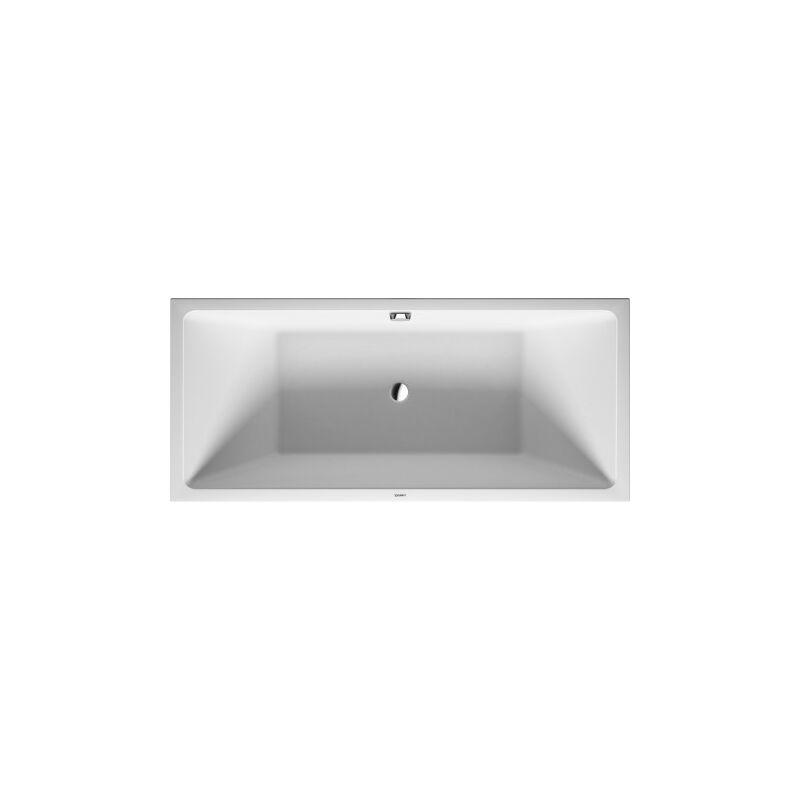 Duravit Vero Air baignoire sur pieds 180x80cm, revêtement acrylique