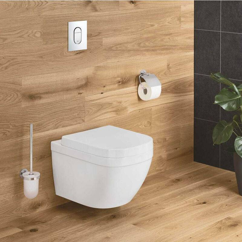 Grohe Euro Ceramic Cuvette WC suspendue, blanc alpin + abattant