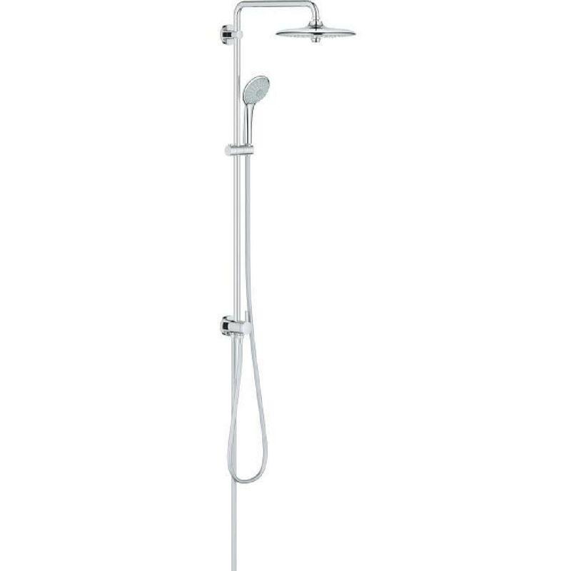GROHE Colonne de douche avec inverseur manuel Euphoria System 260