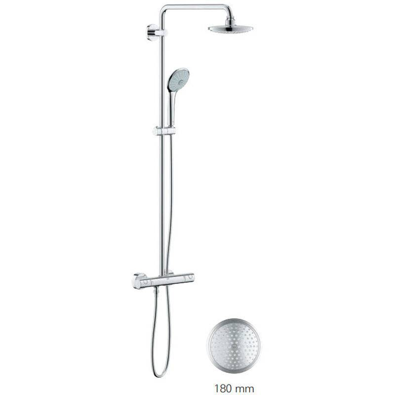 Grohe Euphoria System 180 Colonne de douche avec mitigeur
