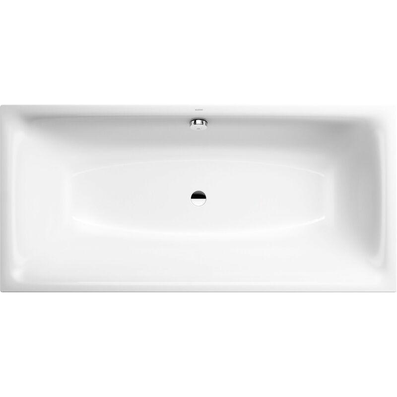 Kaldewei Baignoire Silenio 676, 180x80x43,5 cm, Coloris: Blanc, avec