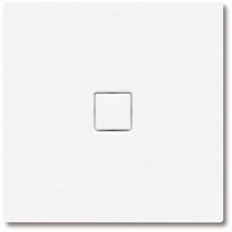 KALDEWEI Conoflat 780-2 80x90cm avec support en polystyrène, Coloris: Gris perle