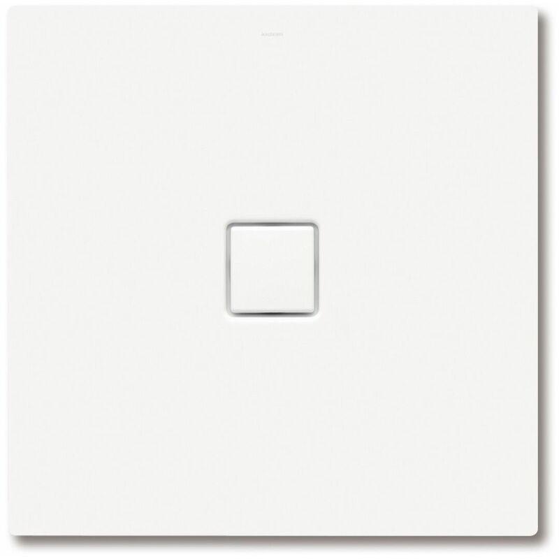 KALDEWEI Conoflat 789-2 100x120cm avec support polystyrène, Coloris: Noir Lavash