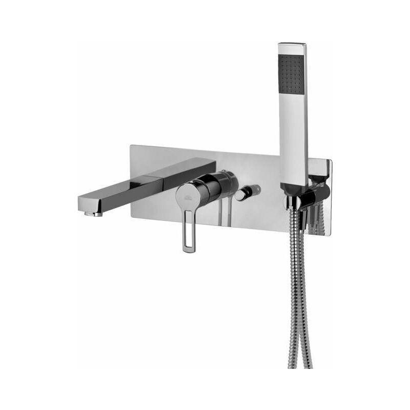 PAFFONI Mitigeur pour baignoire intégré Ringo - West RIN001 - WS001   Chromé