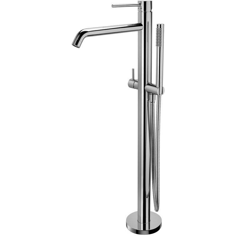 PAFFONI Mitigeur baignoire/douche avec raccord a sol Paffoni Light (code