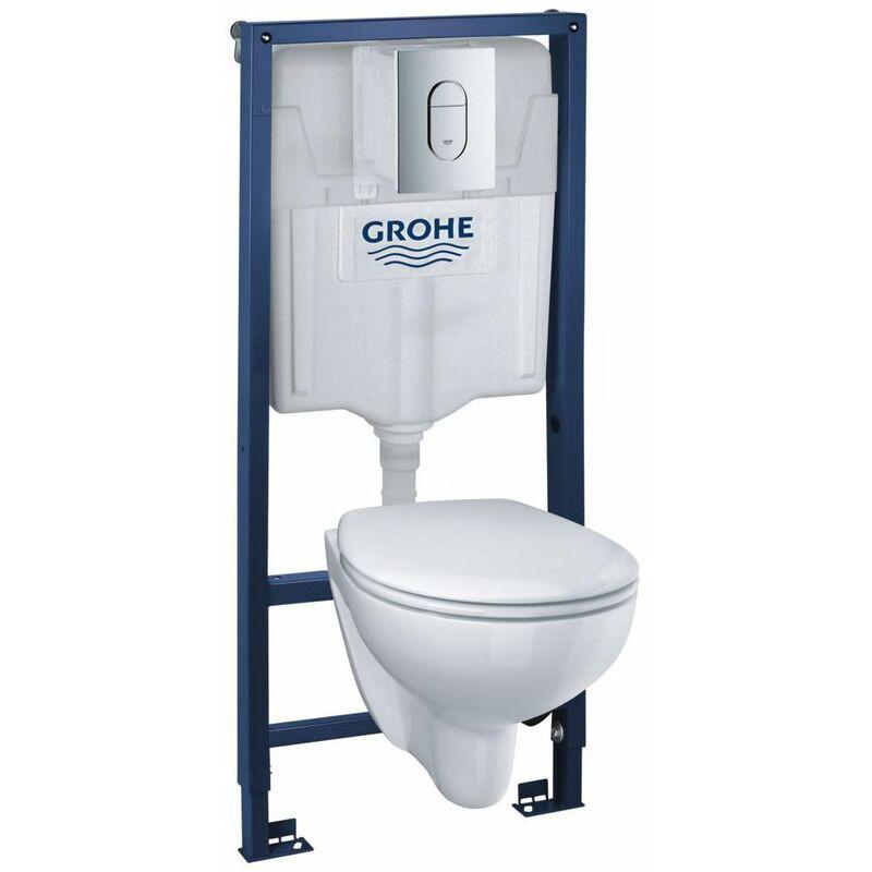 GROHE Set WC suspendu Rimless BAU Ceramic 39418000