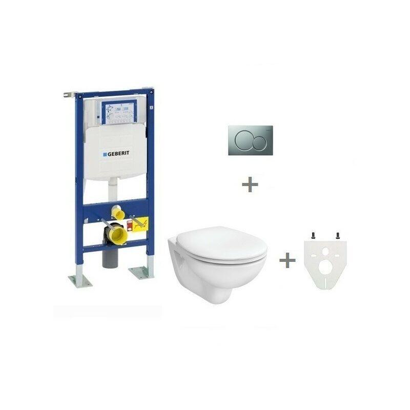 GEBERIT Pack WC suspendu Geberit autoportant   Abattant standard - Sigma01