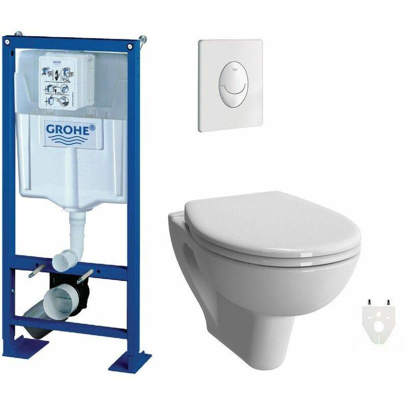 GROHE Pack WC suspendu sans bride Grohe