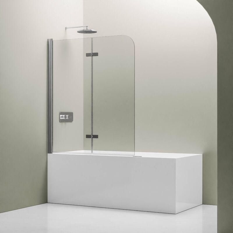 Bernstein - Pare baignoire en verre véritable NANO EX209 - 1200 x 1400