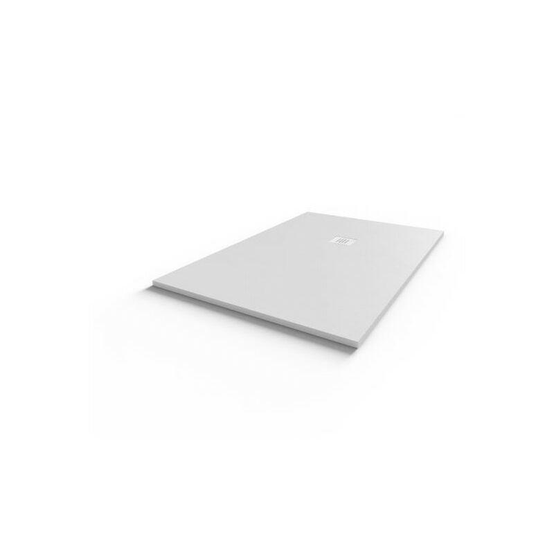 DIAMANT Receveur de douche 140x90 cm extra plat - blanc - Diamant