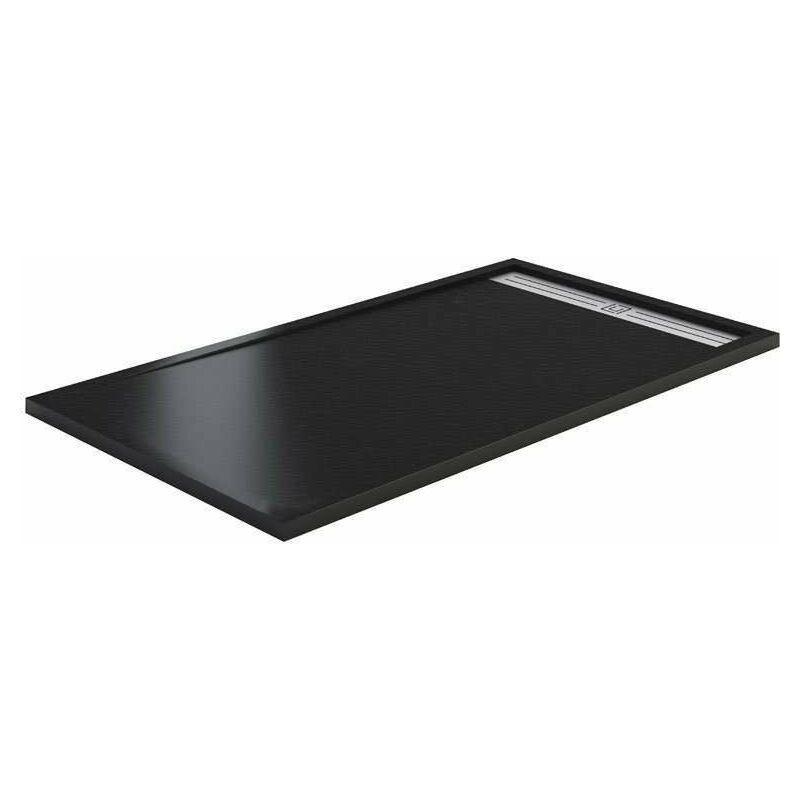 GME Receveur de douche STYLE PLUS 140 x 90 cm - Noir - GME