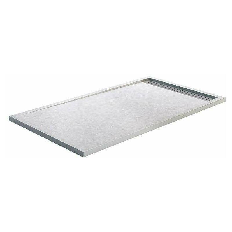 GME Receveur de douche STYLE PLUS 160 x 90 cm - Blanc - GME