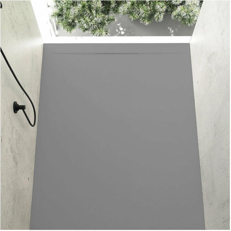 STANO. Receveur de douche 90 x 160 cm extra plat COVER en résine surface