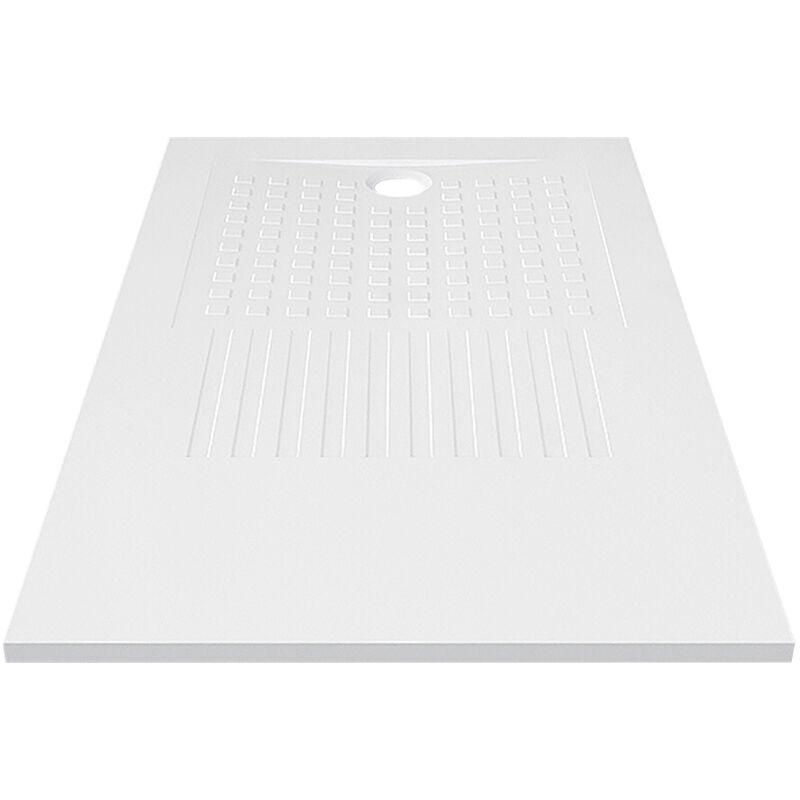 OASIS Receveur de douche blanc découpable 3cm 160x90cm - Oasis