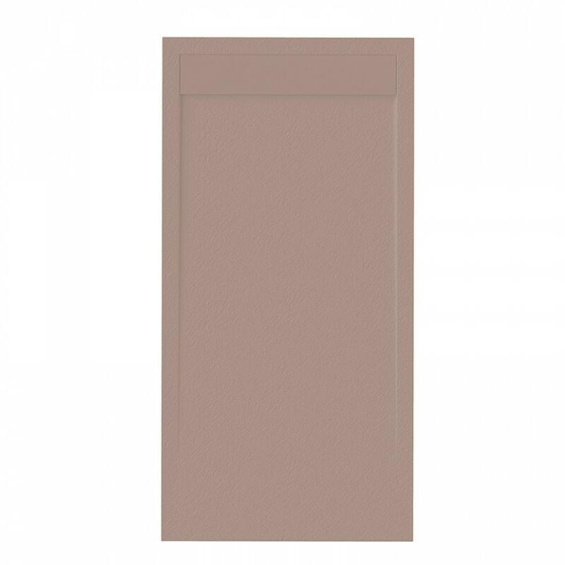 Sanycces - Receveur de douche Clever Gris éléphant - 160 x 90 cm