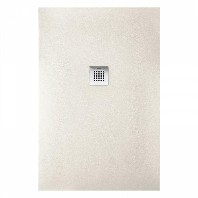 Sanycces - Receveur de douche rectangle beige Strato - 140 x 90 cm