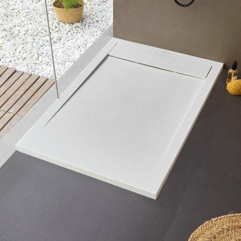 SANYCCES Receveur de douche New York - 140 x 90 cm - Blanc
