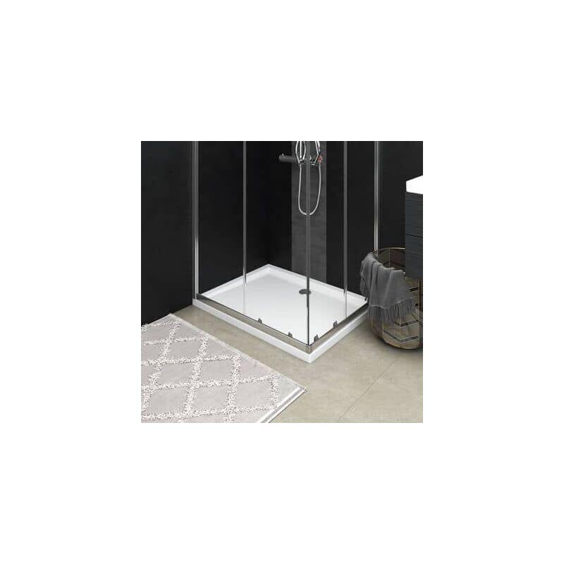 XL DESTOCK Receveur de douche resine blanc 80 x 100 cm