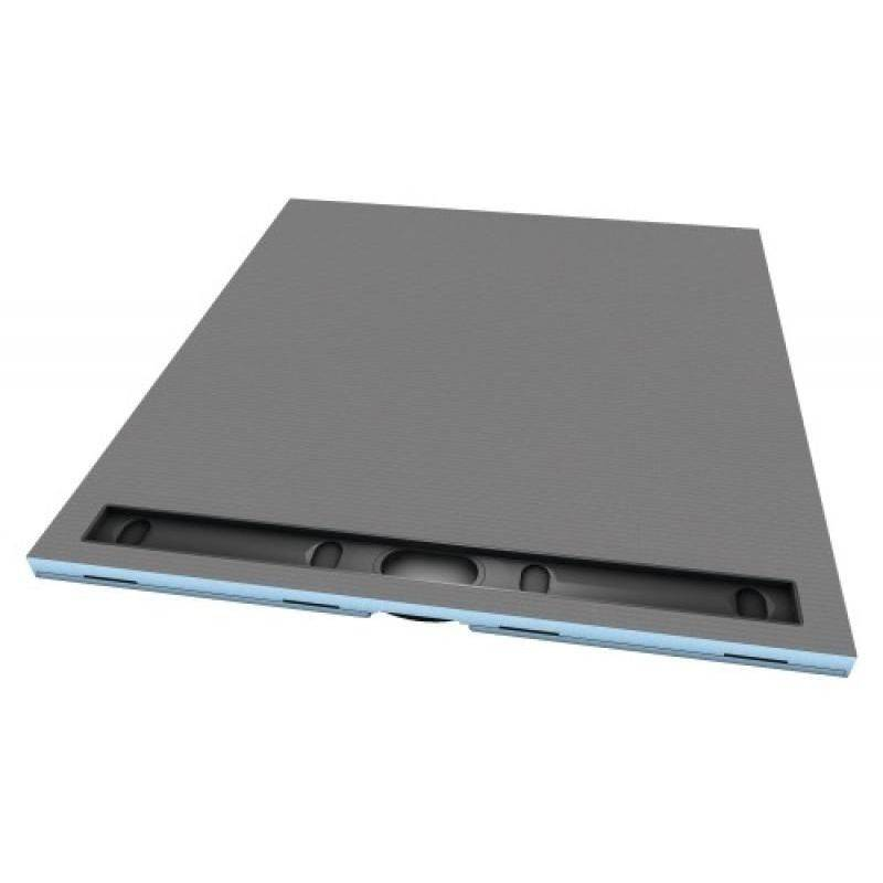 Wedi - Receveur en polystyrène extrudé à carreler RIOLITO NEO 1200 x