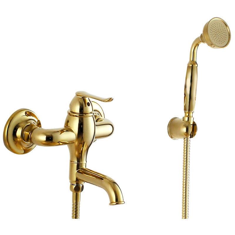 KROOS® Robinet de baignoire mural luxueux en or - KROOS®