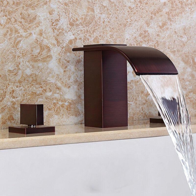 LOOKSHOP Robinet lavabo mélangeur sophistiqué en laiton massif cuivré - LOOKSHOP