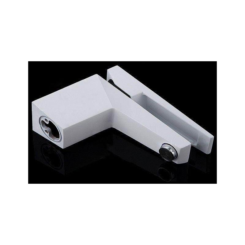 LOOKSHOP Robinet lavabo mitigeur contemporain en laiton solide Blanc - LOOKSHOP