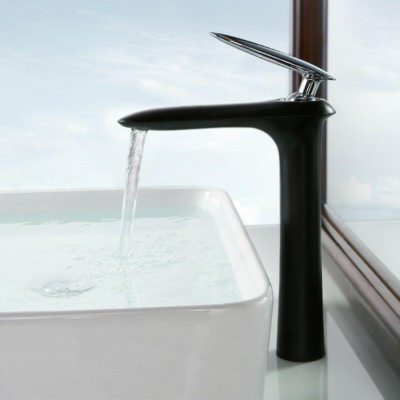 LOOKSHOP Robinet lavabo mitigeur moderne en noir - LOOKSHOP