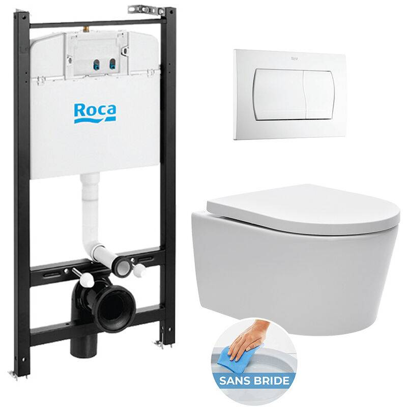 Roca Pack Bâti-support Roca Active + WC sans bride et fixations