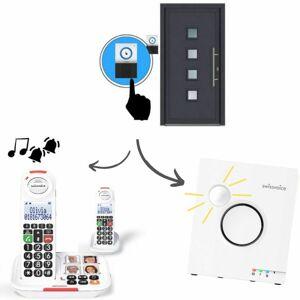 Swissvoice - Pack Maison: Téléphone Sans fil DUO XTRA 2155 + Sonnette - Publicité