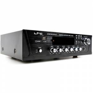 WJG INDUSTRIEVERTRETUNG Un amplificateur avec fonction Bluetooth, karaoké, SD et USB - WJG - Publicité