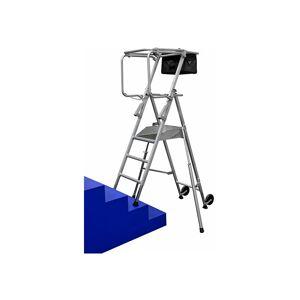 ESCABEAU DIRECT - MATISERE B. Escabeau pro spécial escalier. Hauteur de travail maximale de 2.95m. Publicité