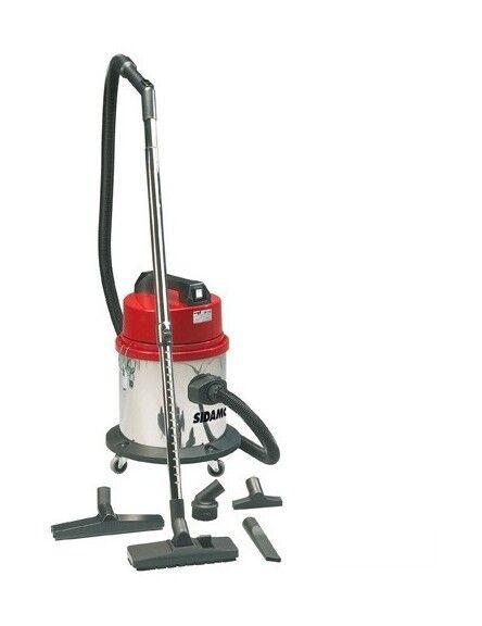 SIDAMO Aspirateur eau et poussières cuve inox MC 16 i - 20 L - 230V 1000W