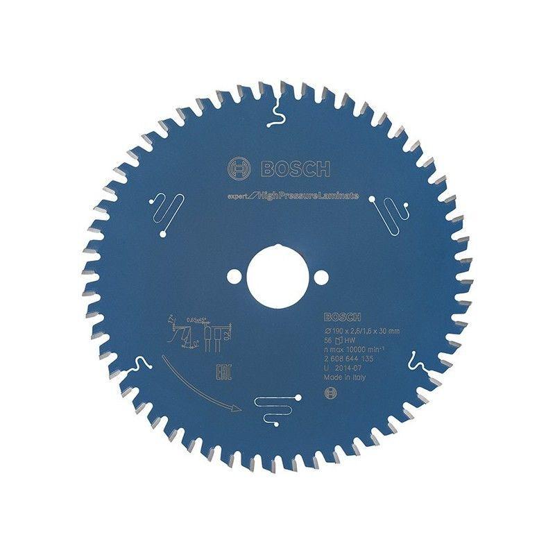 Hazet - Lame de scie circulaire.Expert HPL190x2,6x30mm Z56 TF Bosch