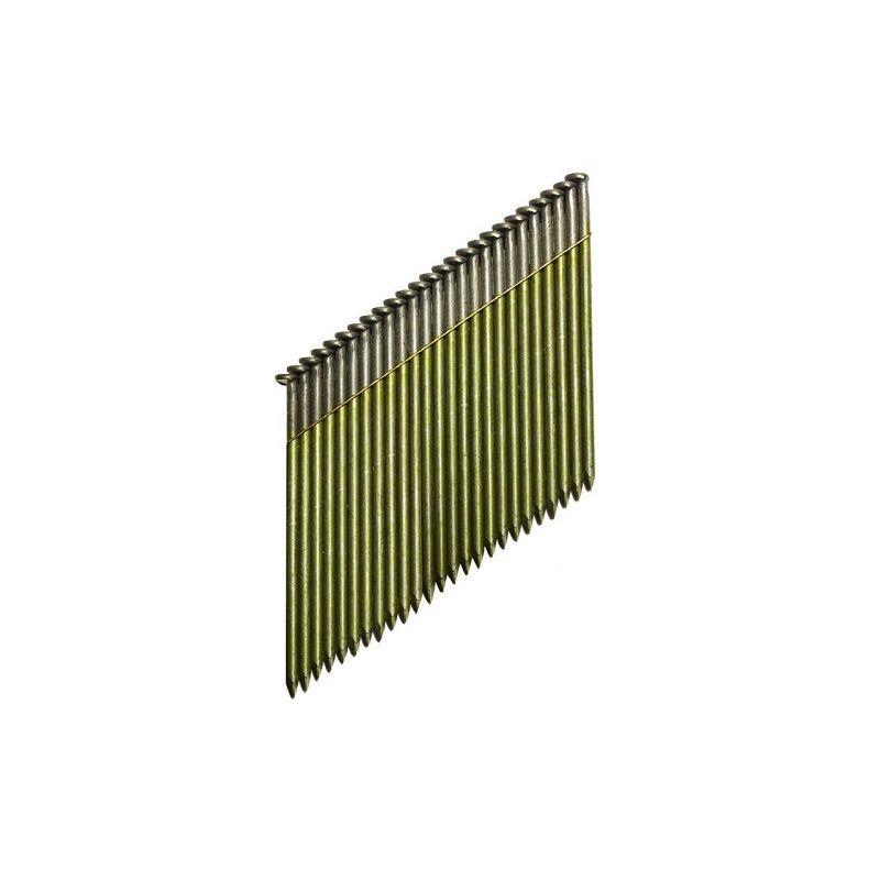 DeWALT Clous 34º, Cranté, 70 mm, 2200 pièces - DNW31R70E