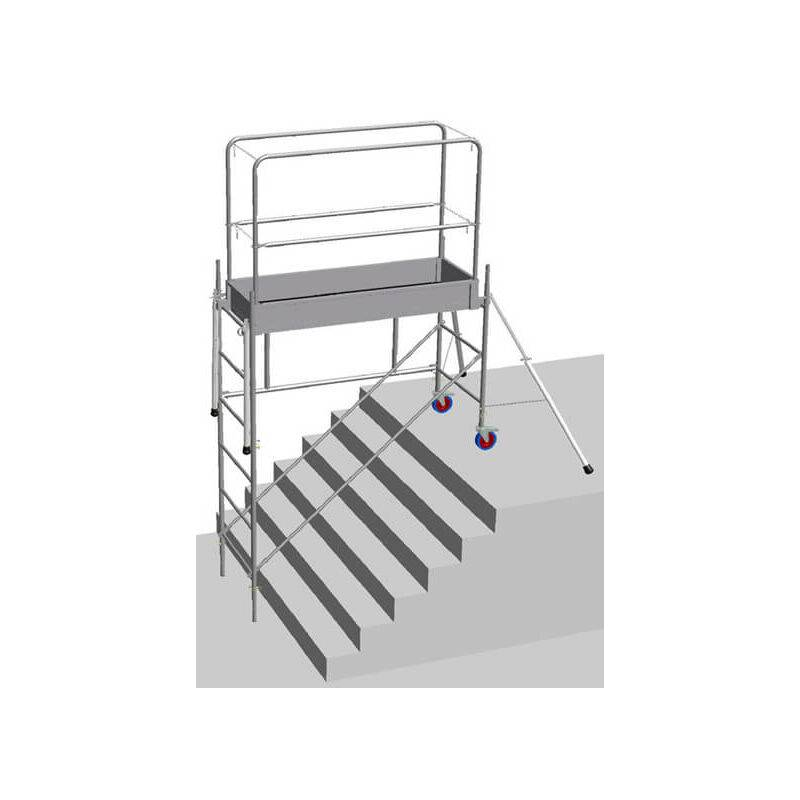 ECHAFAUDAGE DIRECT - MATISERE Echafaudage Direct-matisere - B. Echafaudage pour escalier: 3.8m haut.